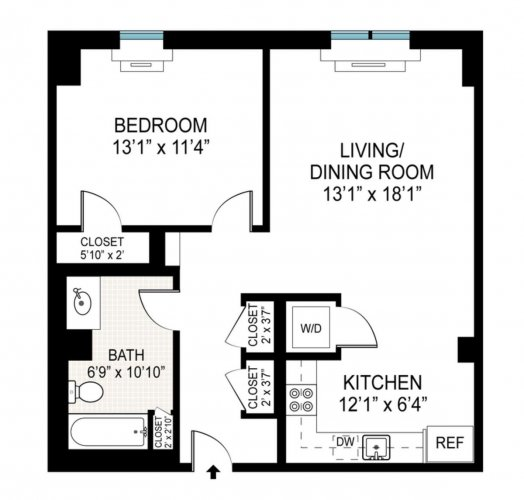 King Sized Luxury 1 Bed Condo!